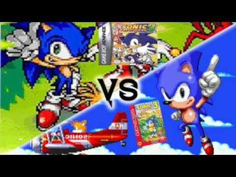 Sonic Advance 3 VS Sonic The Hedgehog 3 & Knuckles
