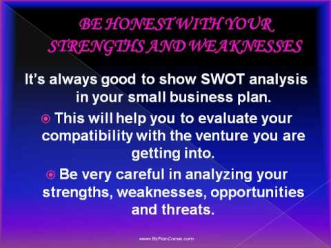 TOP 8 STEPS OF WRITING A SMALL BUSINESS PLAN.wmv