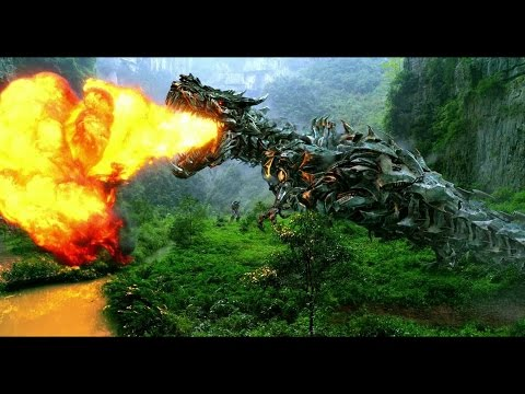 Transformers 4 - All Dinobot Scenes IMAX HD