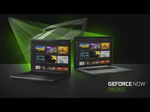 NVIDIA GeForce NOW - PC Beta Now Available - CES 2018 (видео)