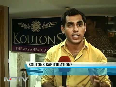 Koutons Retail's debt worries