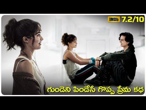 five feet apart hollywood movie Explained In Telugu   cheppandra babu   Cole Sprouse   Haley Lu