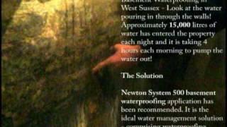 Basement Waterproofing - A Flooded Basement