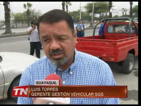 ATM y SGS ejecutaron un operativo para verificar revisión de vehículos