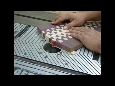making an endgrain cutting board pt4