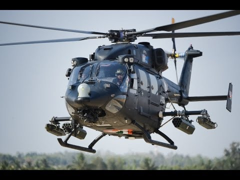 Indian Air Force Lethal RUDRA Helicopter