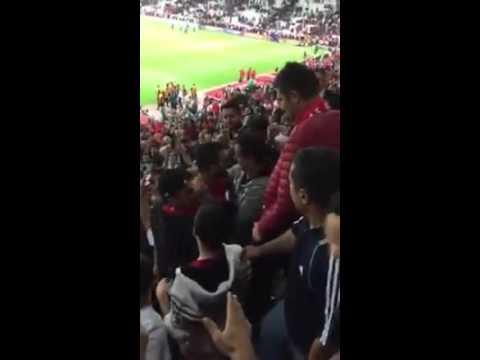 Türkiye İzlanda Milli Maçı, Arda Maç'tan sonra seyircinin arasına daldı
