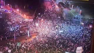 55 tysięcy ludzi na ulicach Warszawy  ,,Czarny Piątek'' brawooooooo !!!!