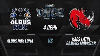 ANoX vs KLG, game 1