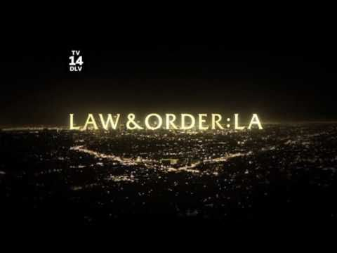Law & Order: LA (Los Angeles) - NEW Beginning Announcement - Season 1 - HD