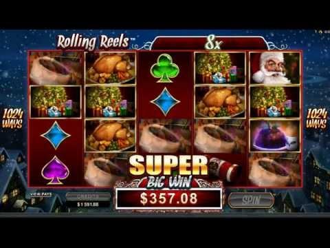 Secret Santa Slot: Rolling Reels Bonus Big Win Real Money online
