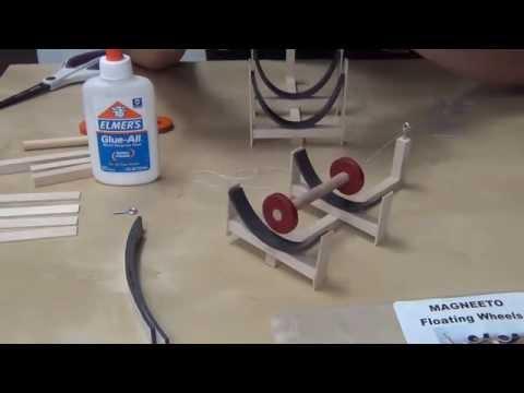 Magneeto Floating Wheels (Magnet Levitation) (видео)