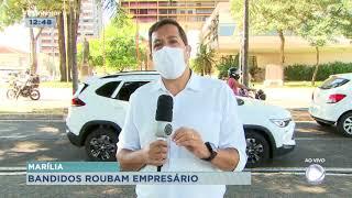 Bandidos invadem casa e roubam família de empresário em Marília
