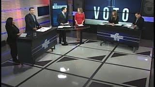 En un nuevo debate en Municipales en CNN Chile participaron los candidatos por Estación Central Rodrigo Delgado (UDI), Angélica Cid (PS), Mauricio Santander ...