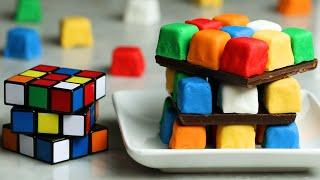Rubik's Cube Cake •Tasty by Tasty