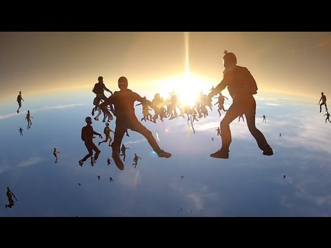 Go Pro - Vertical Skydiving World Record 2012