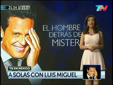 Tuve tres grandes amores: Luis Miguel