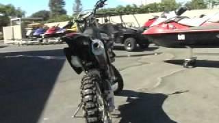 6. 2007 HONDA CRF250X