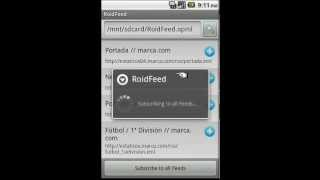 RoidFeed YouTube video