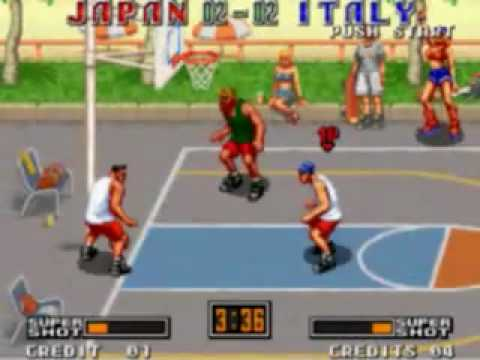 street hoop neo geo online game