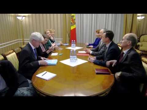 Președintele Republicii Moldova a avut o întrevedere cu oficiali de rang înalt din cadrul Guvernului Elveției