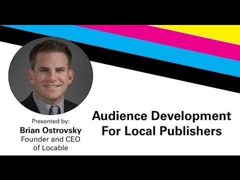 Audience Development for Local Publishers