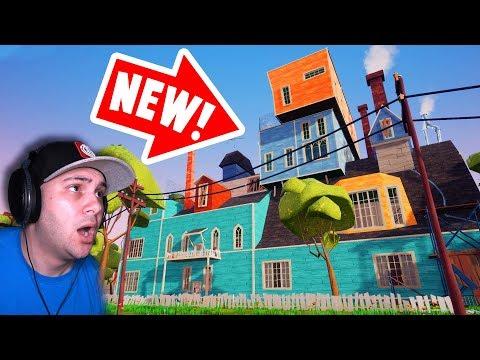 *NEW* AMAZING Hello Neighbor House! | Hello Neighbor Gameplay (видео)