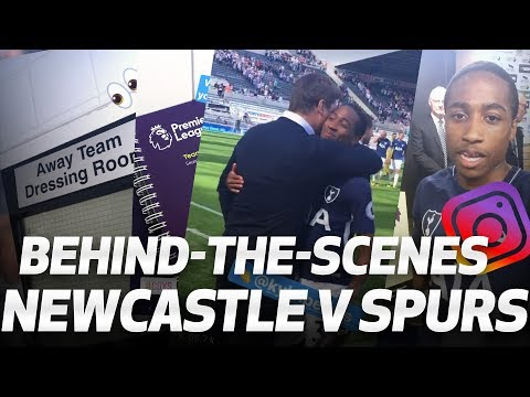 Video: BEHIND-THE-SCENES: Newcastle 0-2 Spurs