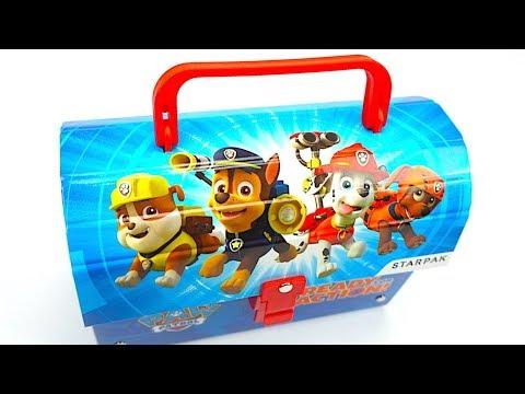 Щенячий патруль игрушки сюрпризы наклейки - DomaVideo.Ru