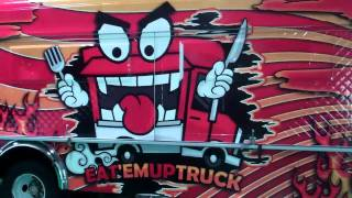 Eat 'Em Up Truck wrap by GATORWRAPS! Gatorwraps.com