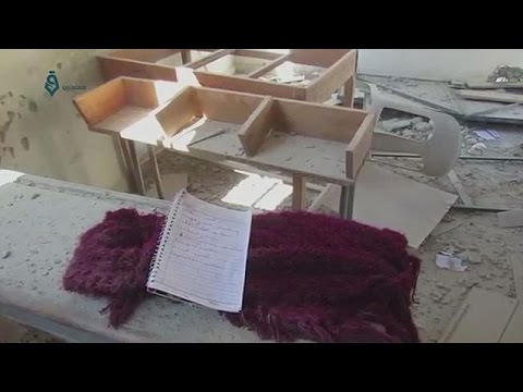 Διεθνής κατακραυγή για το βομβαρδισμό σχολείου στη Συρία – world