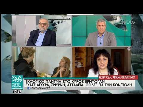 Ο Χριστοδούλος Γιαλλουρίδης για τα αποτελέσματα των εκλογών στην Τουρκία | 01/04/19 | ΕΡΤ