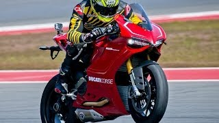 1. 2013 Ducati 1199 Panigale R First Ride - MotoUSA
