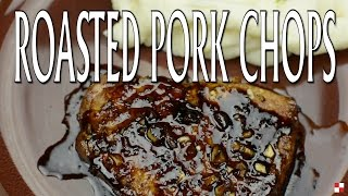 Enjoy this quick and simple roasted pork chops along with your favorite side! Full Recipe / Roasted Pork ChopsRecipe:...