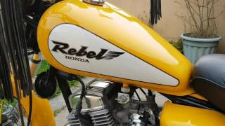 Honda CA 125 Rebel, 3173 km, perfect condition, for sale in South Wales
