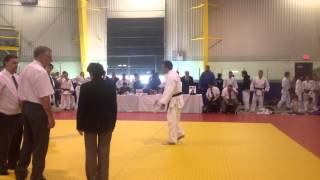 2013 Tora Invitational Judo Championships 3rd match - Kyle Fegan vs Bailey Hu
