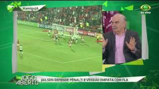 Jornalista criticou o desempenho do goleiro rubro-negro Alex Muralha.