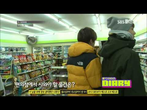 HD (ENG)121225 BTOB B+ Diary Ep 4 Part(4/4) (видео)