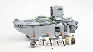 LEGO Star Wars First Order Transporter (Timelapse & Review) - Set 75103