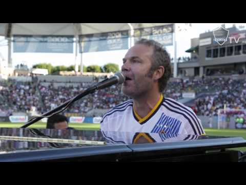 Five For Fighting Pays Tribute To Landon Donovan LIVE