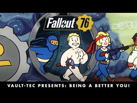 Vault-Tec Presents: Being a Better You! Perks Video de Fallout 76