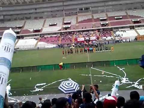 Barra Alianza Lima - Recibimiento del Equipo Sub12 - Comando SVR - Alianza Lima