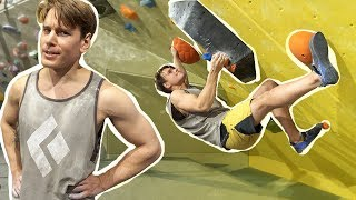 Nikken just created something really HARD for Emil - 8B/V13? I test climbed it by Eric Karlsson Bouldering