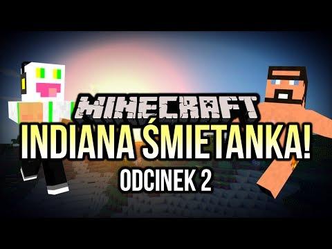 Minecraft - Indiana Śmietanka #2 - Czarny Pan