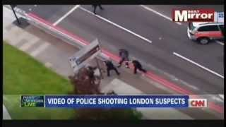 London Police Shoot Attackers Who Killed British Soldier Lee Rigby