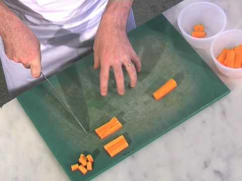 Basic Cuts Of Vegetables - Jardinière