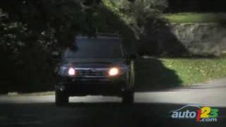 2009 Subaru Forester 2.5X Review By Auto123.com