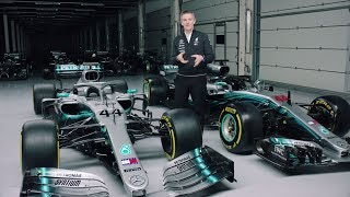 2019 vs 2018 Mercedes F1 Car Explained!