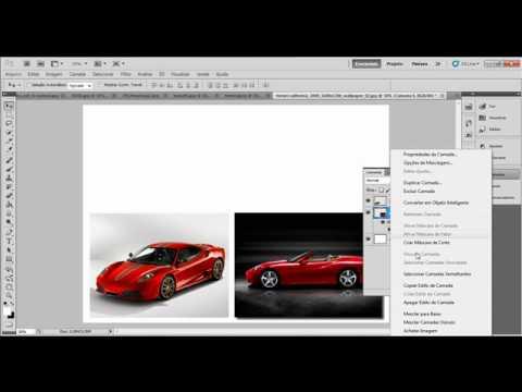 photoshop cs5 (colocando varias fotos em uma só)