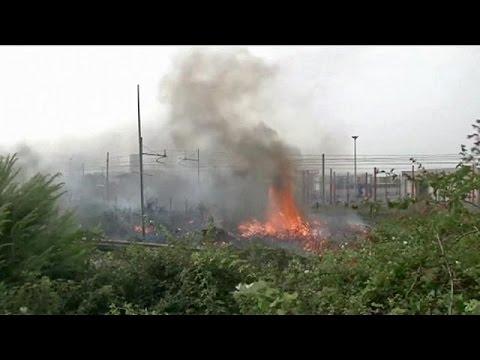 Δεκάδες πυρκαγιές ξέσπασαν στη Σικελία